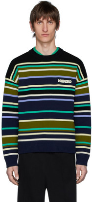 Kenzo Multicolor Striped Seasonal Sweater