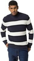 Tommy Hilfiger Final Sale-Rugby Stripe Mockneck Sweater
