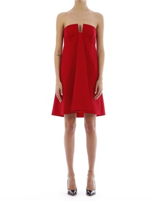 Valentino Double Comfort Crepe Dress