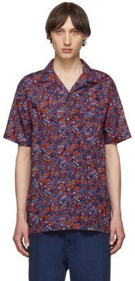 Onia Multicolor Butterflies Vacation Shirt