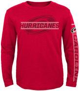 Reebok Toddler Boys' Long-Sleeve Carolina Hurricanes Line Up T-Shirt