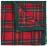 Eton Tartan Wool Pocket Square