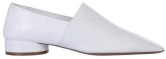Maison Margiela Signature Stitching Pointy Toe Loafers