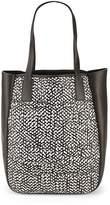 Derek Lam 10 Crosby Women's Bond Woven Leather Tote Bag