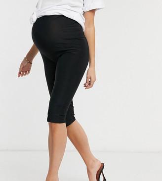 Club L Maternity Club L London Maternity slinky body-conscious short in black