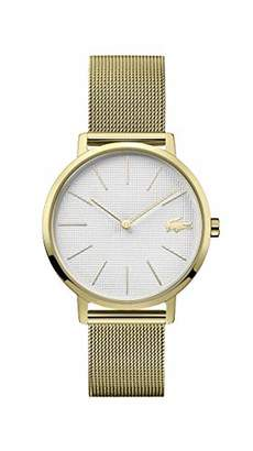 Lacoste Women's Gold Tone Quartz Watch with Stainless Steel Strap