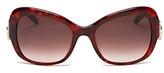 Moschino Butterfly Cat Eye Sunglasses, 56mm