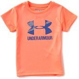 Under Armour Little Girls 2T-6X Terra Split Big Logo Short-Sleeve Graphic Tee