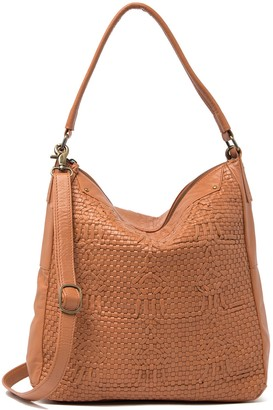 Day & Mood Smilla Woven Leather Hobo Bag