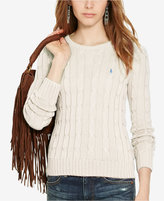 Polo Ralph Lauren Cable-Knit Cotton Sweater
