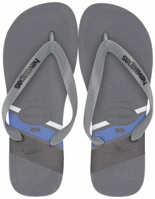 Havaianas Men's Top Trend Flip Flop Sandal Black/Blue Star 13 M US