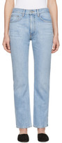 Brock Collection Blue Wright Jeans