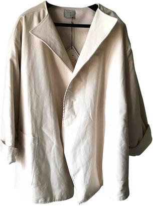 Base Range Ecru Cotton Jackets