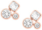 Michael Kors Crystal Cluster Stud Earrings