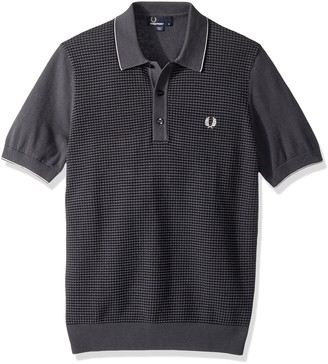 Fred Perry Men's Textured Knitted Shirt