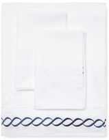 Melange Home Rope Embroidered Sheet Set