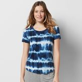 Women's SONOMA Goods for LifeTM Everyday Essential Tie-Dye Lounge Tee