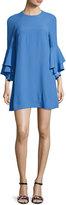 Alexis Melany Ruffle Sleeve Mini Dress