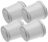 Black & Decker Replacement Filters for FHV1200 Vacuum 4-Pack