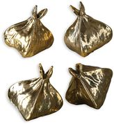 Uttermost 4-Piece Box Fruit Sculptures in Gold