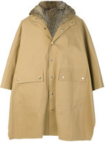 MACKINTOSH lined hooded coat