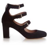 Tabitha Simmons Ginger block-heel suede pumps