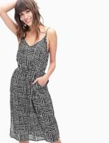 Splendid Rainfall Batik Print Tank Dress