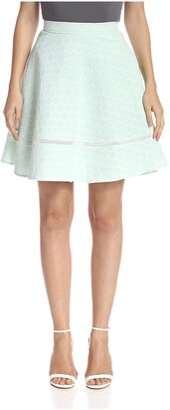 ABS by Allen Schwartz Women's Polka Dot Skirt