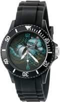 Disney Women's 'The Cheshire Cat' Quartz Plastic Automatic Watch, Color: (Model: W003068)