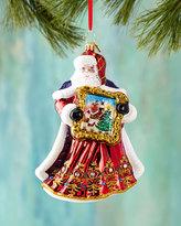 Christopher Radko Perfect Portrait Christmas Ornament
