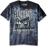 Liquid Blue Men's Ac/Dc Cannon Short Sleeve T-Shirt