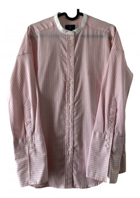 Gant Pink Cotton Top for Women