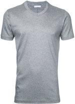 ESTNATION V-neck T-shirt - men - Cotton/Lyocell - S