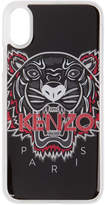 Kenzo Black 3D Tiger iPhone X Case