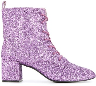macgraw Stardust glitter ankle boots
