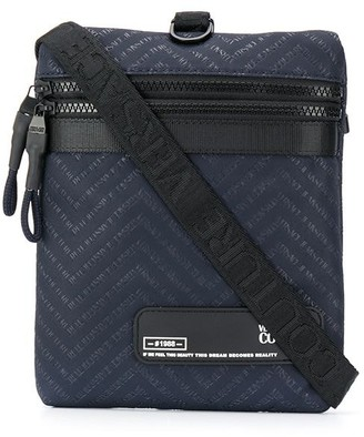 Versace Jeans Couture Logo Patch Crossbody Bag