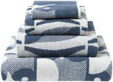 Orla Kiely Owl Towel - Marine - Face Towel