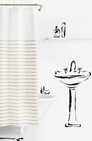 Kate Spade 'Harbour Stripe' Shower Curtain