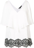 Derek Lam lace detail ruffled blouse - women - Silk - 42