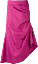 Marni asymmetric ruffle skirt - women - Polyester - 40