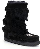 Manitobah Mukluks Fur Half-Wrap Cold-Weather Boots