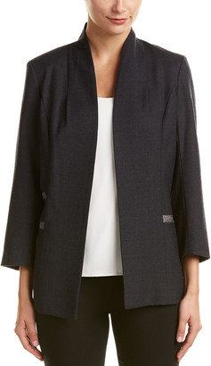 Misook Heritage Fit Wool-Blend Jacket
