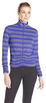 Calvin Klein Women's Rouched Fitness Jacket