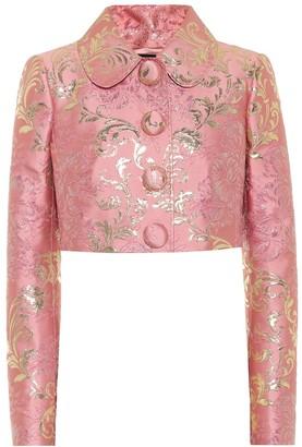 Dolce & Gabbana Brocade cropped jacket