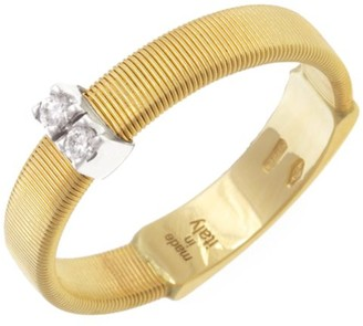 Marco Bicego Masai 18K Yellow Gold & Diamond Band Ring