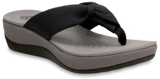 Clarks Cloudsteppers By Arla Glison Wedge Sandal