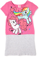 Jerry Leigh Pink My Little Pony Friendship Splatter Quilted Dress - Kids & Tween