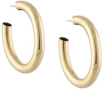 Laura Lombardi Curve hoop earrings