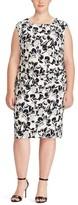 Lauren Ralph Lauren Plus Size Women's Koriza Montero Floral Dress