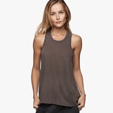 James Perse Crepe Jersey A-Line Tank